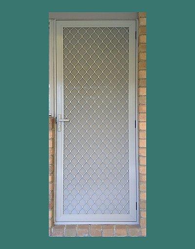 7mm aluminium security door