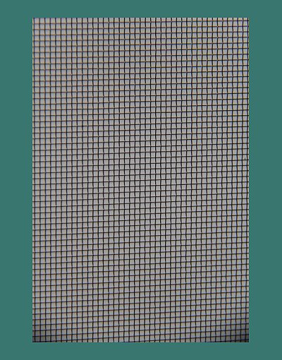 Aluminium mesh for fly screens and security doors