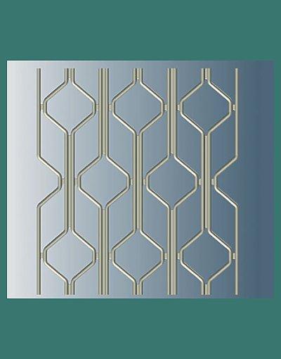 A227 Decorative Diamond security door pattern