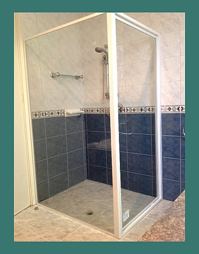 We also install shower screens
