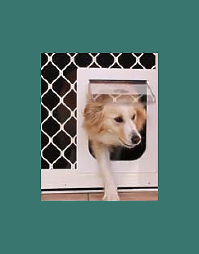 We also install pet doors