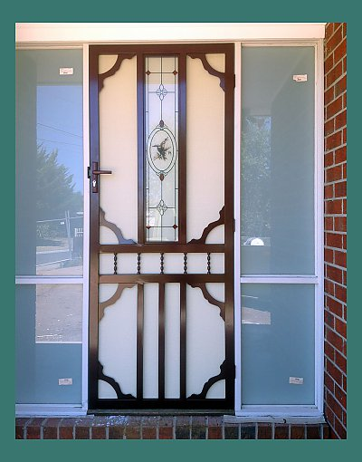 We also install steel security doors